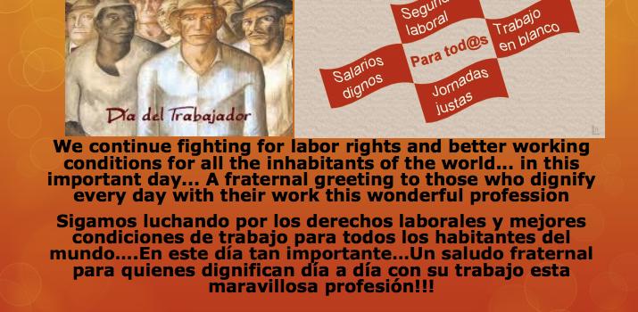 Feliz Dia Del Trabajador!