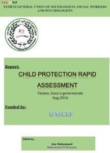 Child Protection Rapid Assessment Report