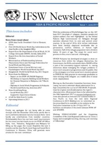 IFSW Newsletter Asia-Pacific Region