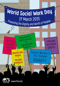 World Social Work Day Poster 2015