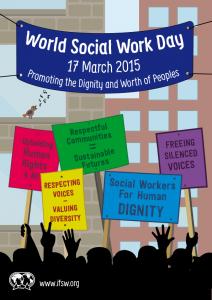 World Social Work Day Poster 2015