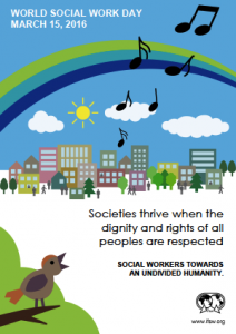 World Social Work Day Poster 2016