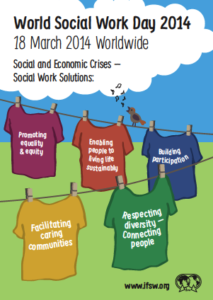 World Social Work Day poster 2014