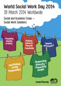 World Social Work Day poster 2014