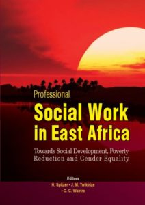 Professional Social Work in East Africa (cover)