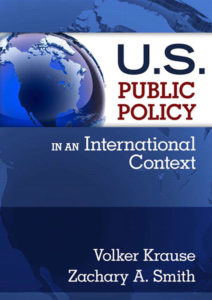 U.S. Public Policy in an International Context (cover)