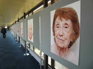 Photo exhibition of refugees and migrants