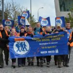 Social Workers March Against Austerity!