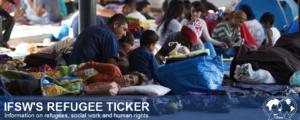 Refugee ticker