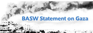 BASW statement on Gaza