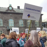 Social workers in Iceland fight for better wages