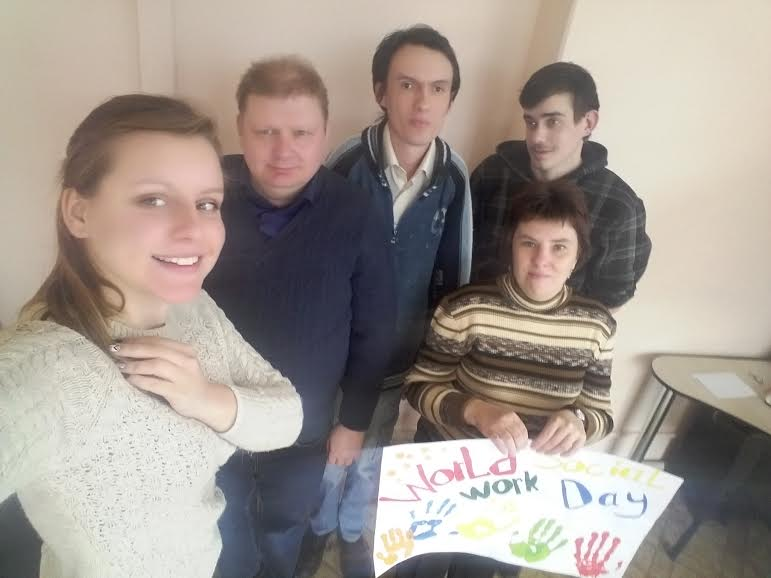"Vitebsk Clubhouse ""Wings of hope"" for people recovering from mental health difficulties, Belarus"