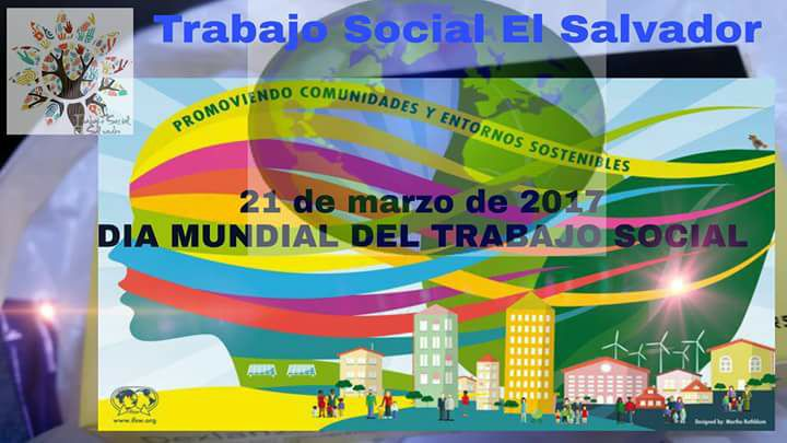 World Social Work Day 2017 El Salvador poster