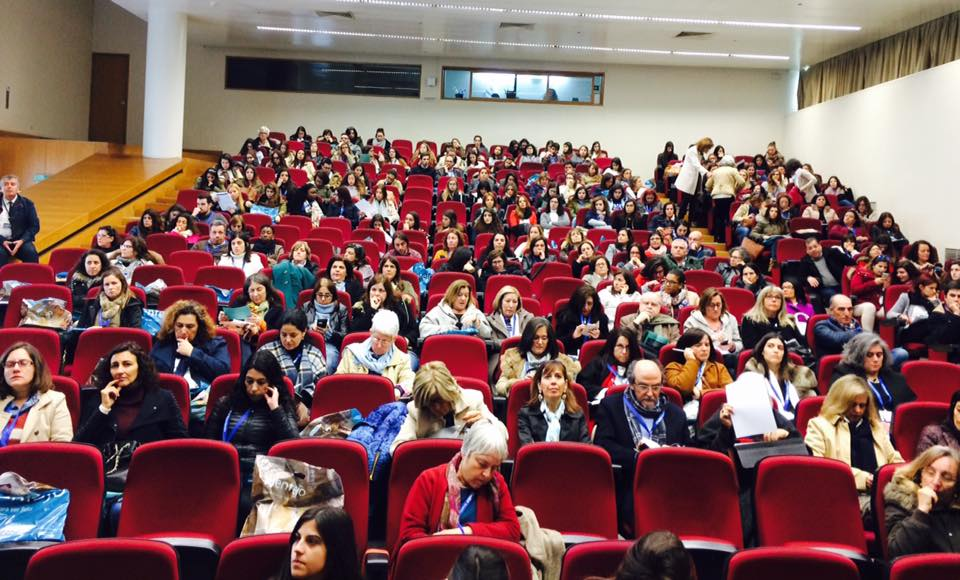 Audience at World Social Work Day 2017 Portugal event