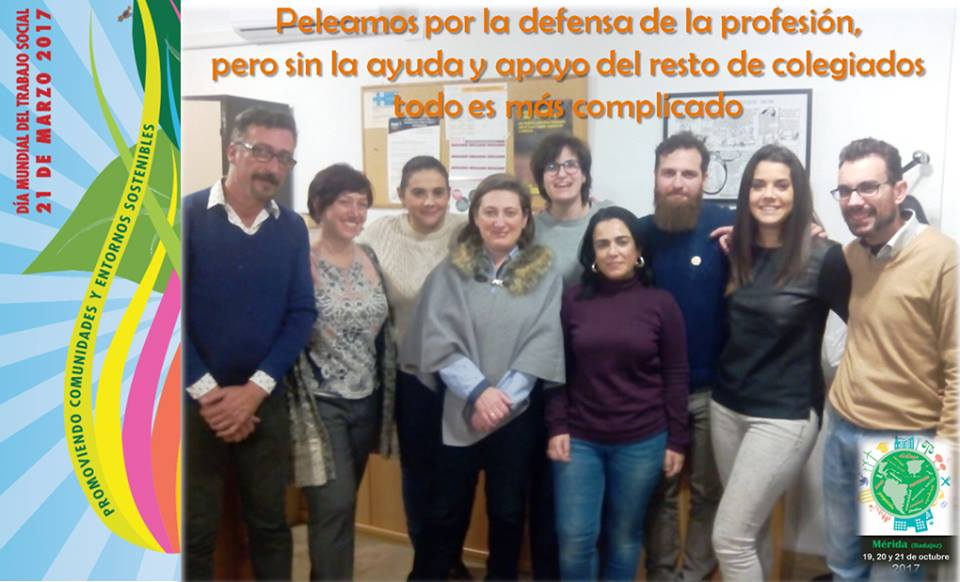 World Social Work Day 2017 Spanish social workers