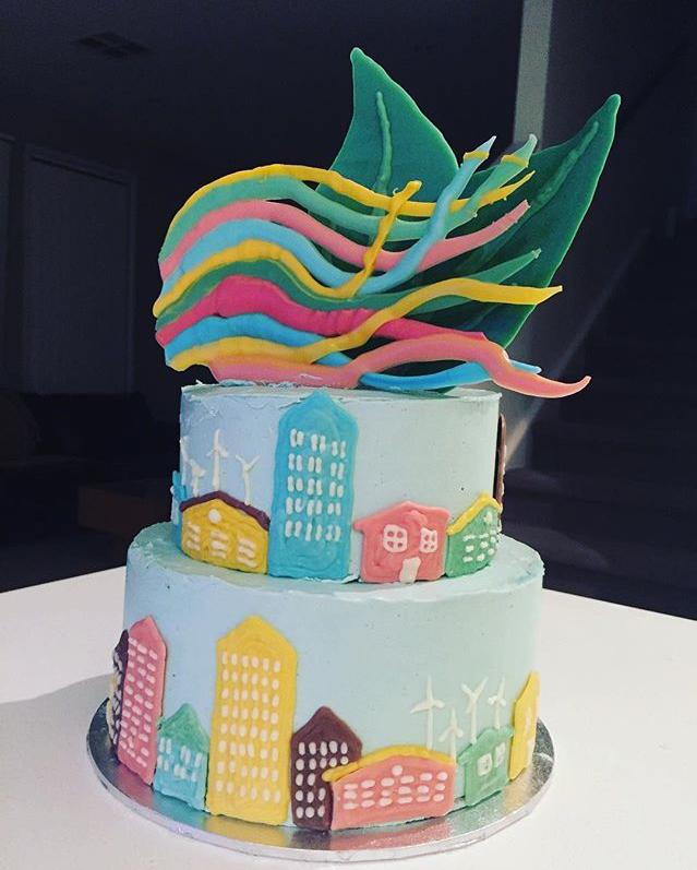 World Social Work Day 2017 cake