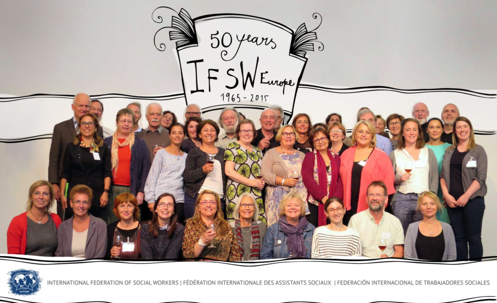 European social workers celebrate 50 years of IFSW Europe