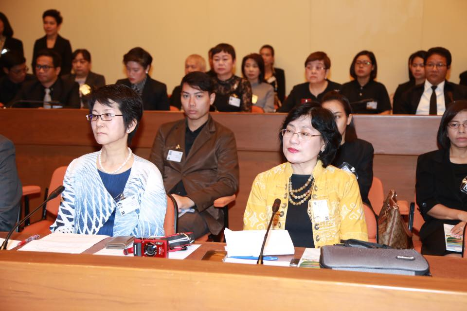 Attendees at the WSWD 2017 Bangkok event