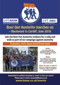 Boot Out Austerity marches