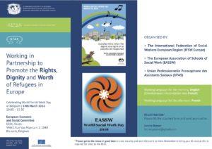 Leaflet: WSWD 2016 in Brussels