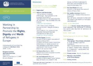 Programme: WSWD 2016 in Brussels