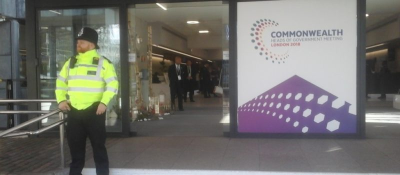 Commonwealth Heads of Government Meeting London 2018