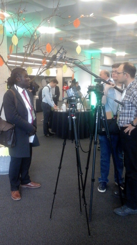 An interview at the CHOGM meeting