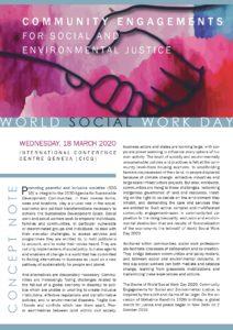 IFSW #SWSD2020 Geneva